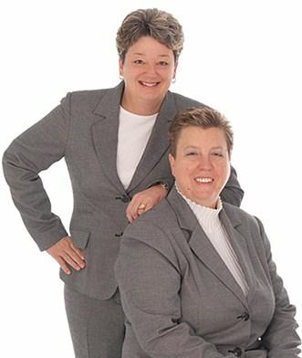 Diane Conklin & Gail Saseen